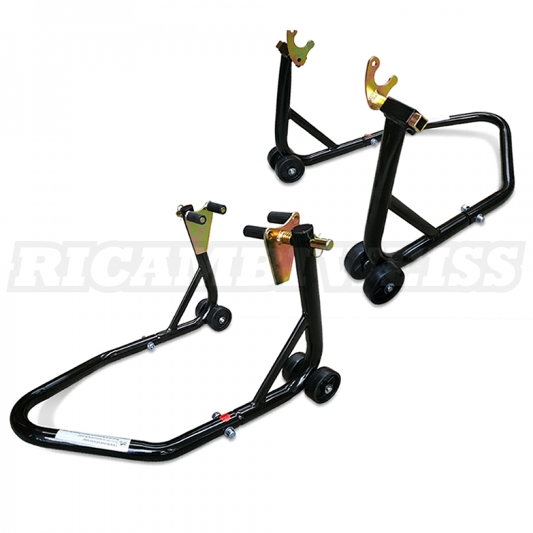 STVK PADDOCK STAND SET UNIVERSAL Rear and front