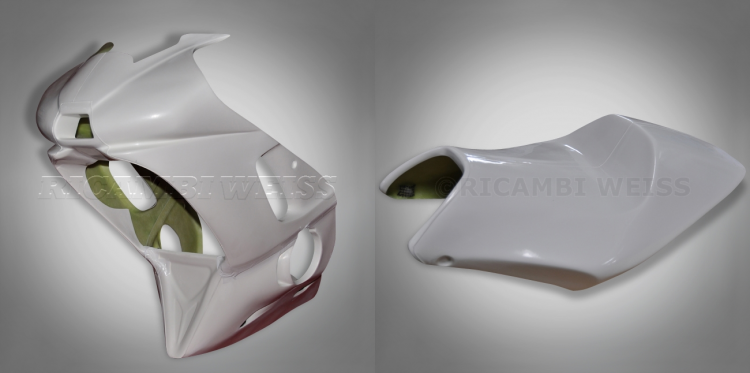 KDR23 Ricambi Weiss Racing Fairing Yamaha YZF R 6