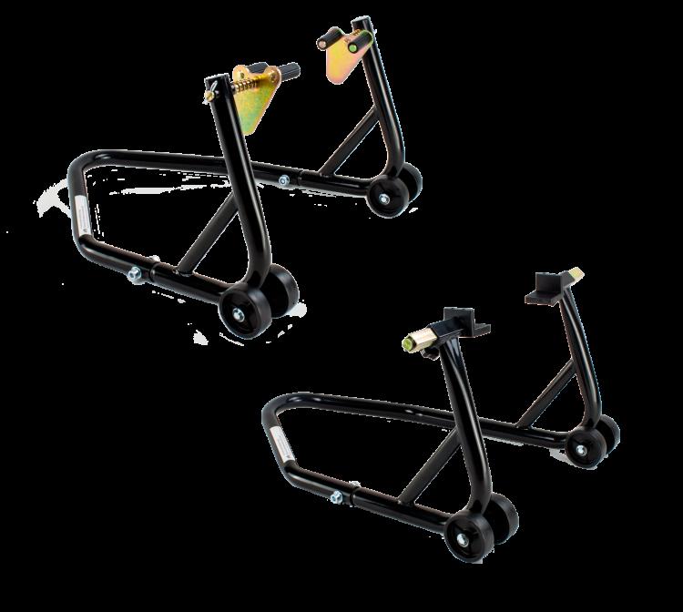 RWSTT2 Motorrad Montagest/änder Hinterrad bis 400kg RicambiWeiss Professional