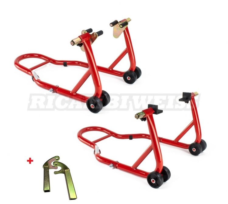 STTKW2 Ricambi Weiss Paddock Stand Set Universal